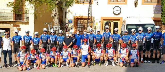 El club ciclista Electro Hiper Europa-Ristrasol,  concentrat aquest cap de setmana a Cervera del Maestre