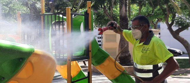 L'Ajuntament d'Alcanar obre tots els parcs infantils del municipi