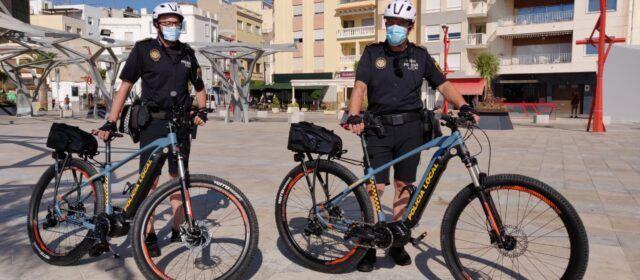 L'Ajuntament de Vinaròs adquireix dues bicis elèctriques per a la Policia Local
