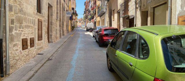 Subvención a Sant Mateu para adecuar calles del centro histórico