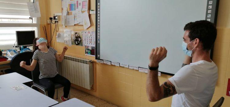 L'alumnat del centre d'educació especial Sant Jordi de la Diputacióa Jesús retorna a les aules per acomiadar el curs escolar