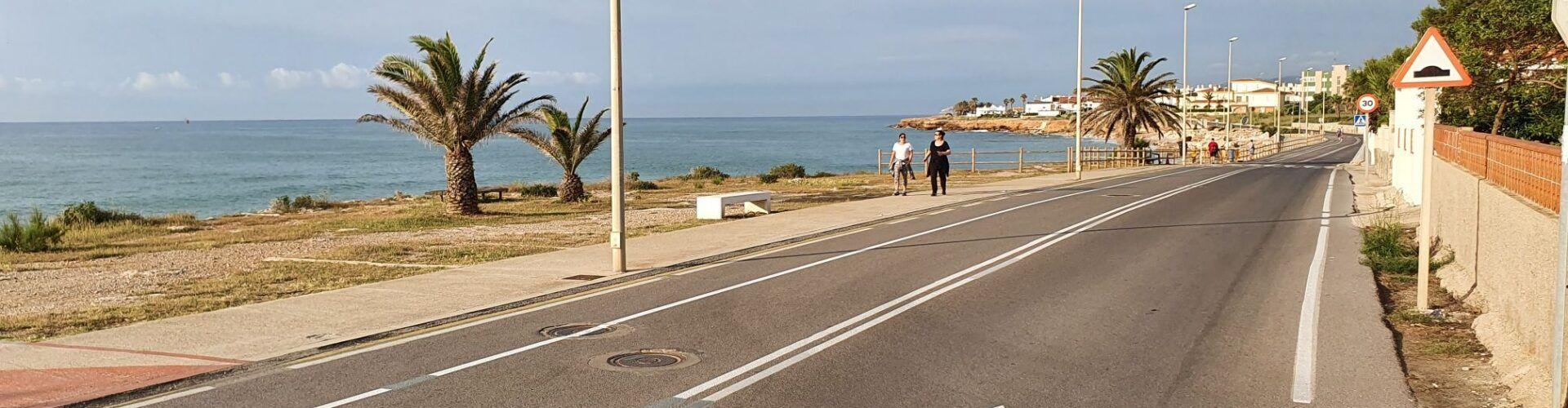 """La Plataforma de Vecinos """"Carretera Costa Sur"""" de Vinaròs critica la modificación del vial"""