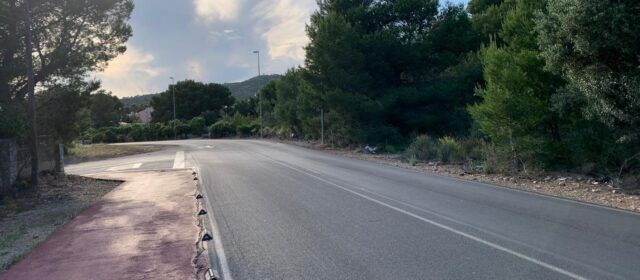 L'Ajuntament d'Alcalà-Alcossebreaprova destinar 200.000 euros a l'actuació de millora de la carretera de les Fonts