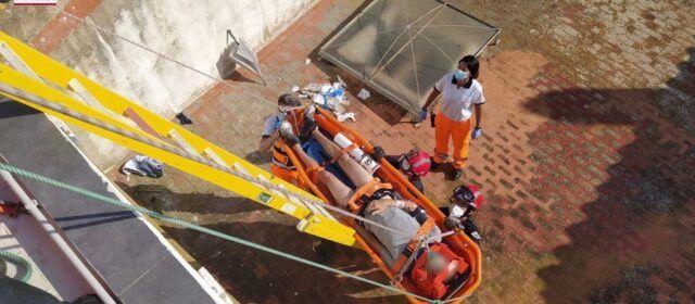 Rescate en Salsadella tras caer desde 4 metros