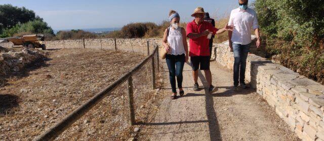 Finalitza la campanya arqueològica al Puig de la Misericòrdia de Vinaròs