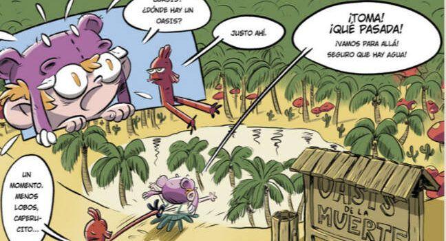 El vinarocense José Fonollosa cede ilustraciones para un cómic gratuito digital