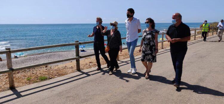 La Subdelegada del Govern, Soledad Ten, visita Vinaròs
