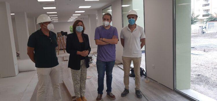 La nova Biblioteca Manel Garcia Grau de Benicarló estarà acabada el 22 d'octubre