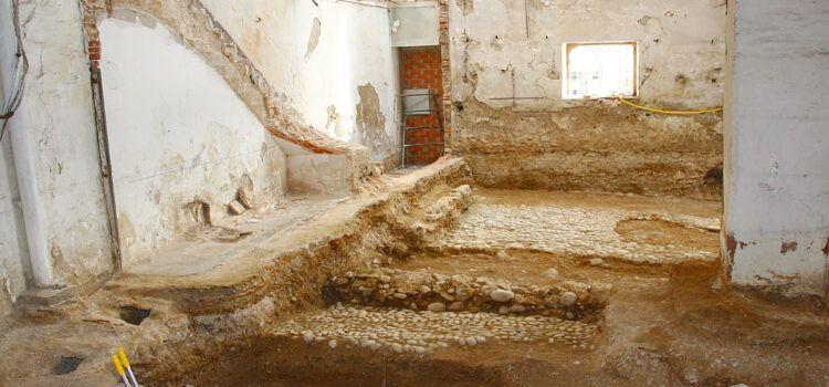 """La """"cotxera de Batet"""" tendrá una zona acristalada para conservar los restos del Fortí de Vinaròs"""