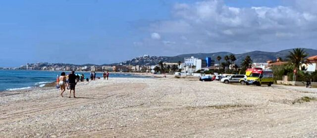 Fallece una vecina de Benicarló en la playa de Gurugú