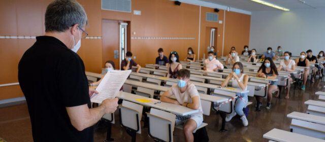 Gairebé 3.750 estudiants fan les proves de Selectivitat a les comarques de Tarragona