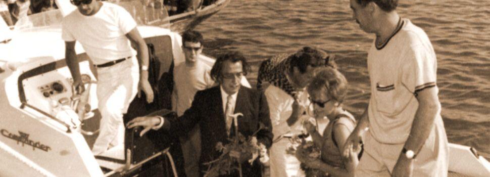 La visita de Dalí a Vinaròs: així relatà Joaquín Simó les gestions per portar-lo a les Festes del Llagostí 1965