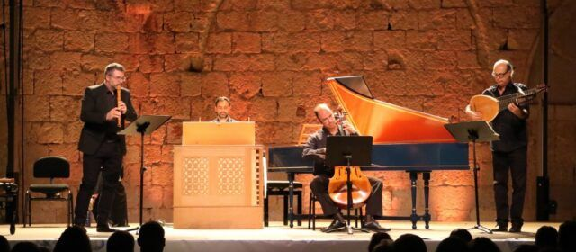 El Festival Internacional de Música Antiga i Barroca de Peníscola tanca l'edició d'enguany amb Mediterrània Consort