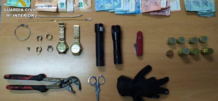 Cinco detenidos por robos en Alcossebre, Peñíscola y Torreblanca