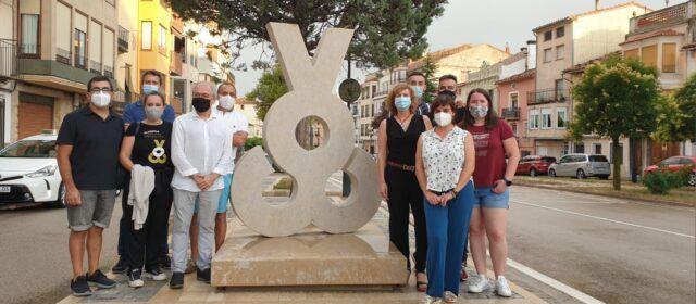 Vilafranca presenta una escultura per a commemorar la Capitalitat Cultural 2019-2020