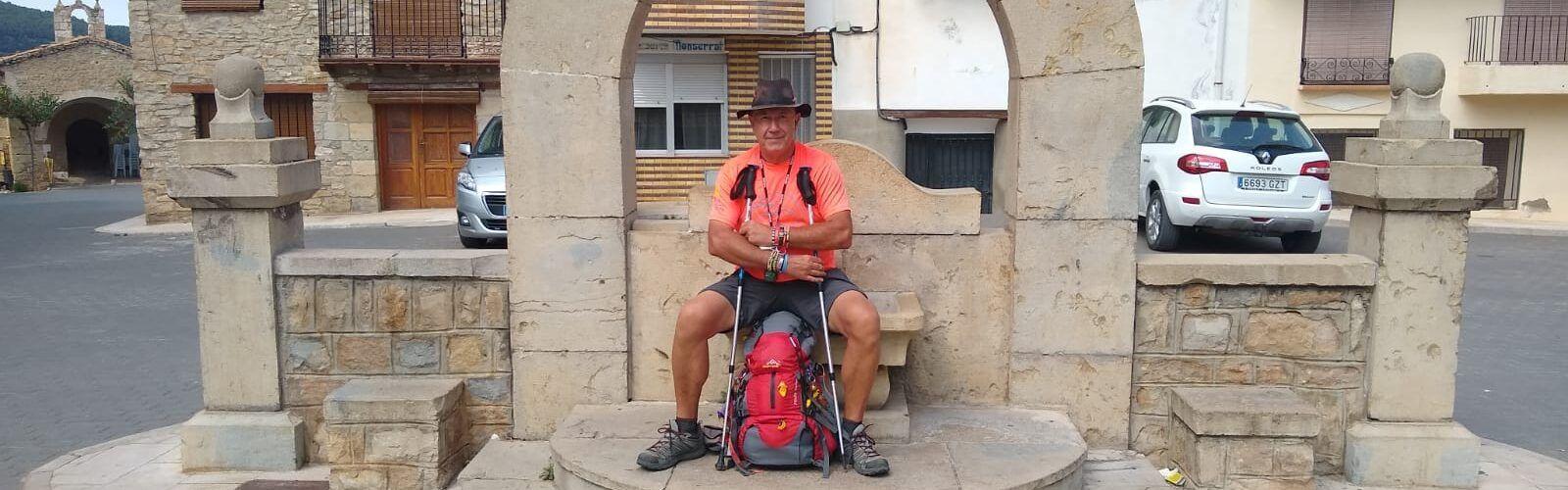 José Manuel Ortí: Les 15 etapes del Camí de Conquesta en només 5 dies, amb 172 km en total