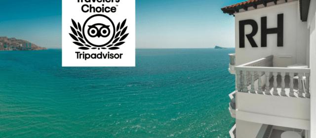 Premiados la Cadena RH Hoteles, con 5 hoteles en Peñíscola y Vinaròs, por TripAdvisor con el Traveler´sChoice 2020