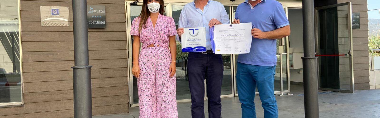 29 empreses i serveis públics de Peníscola formen part del programa de qualitat turística SICTED