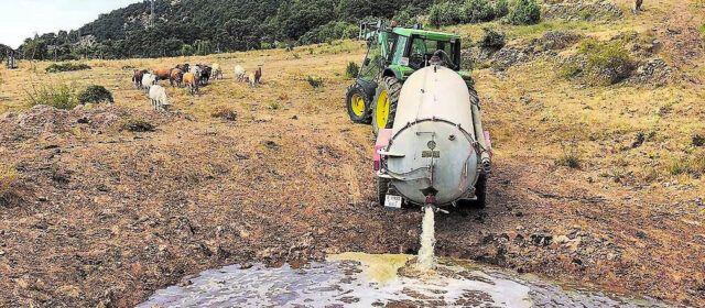 Se agotan las reservas hídricas de las explotaciones de Els Ports
