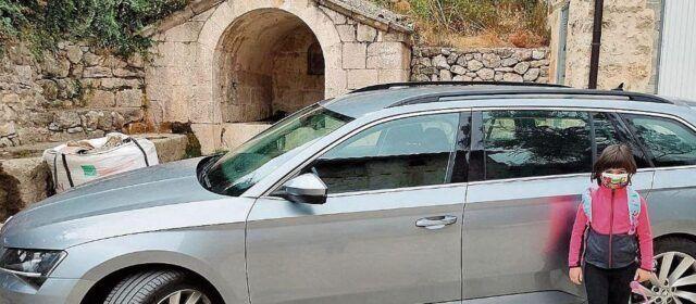 Un taxi para ir al cole desde Herbers hasta Peñarroya de Tastavins