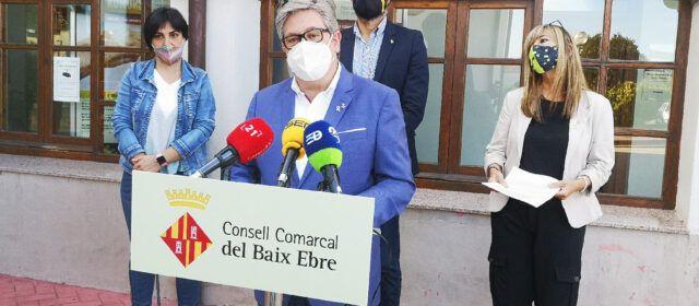 Els consells comarcals ebrencs rebutgen la sentència del Tribunal Suprem d'inhabilitació del president de la Generalitat