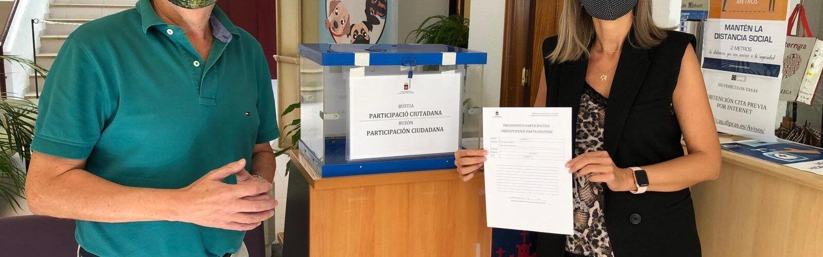 L'Ajuntament d'Alcalà-Alcossebrerecull les propostes ciutadanes en els pressupostos participatius 2021