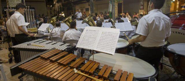 Alta participació d'inscrits a l'Escola de Música de Morella