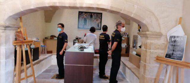 Exposició de mascaretes artístiques a Sant Pau d'Albocàsser