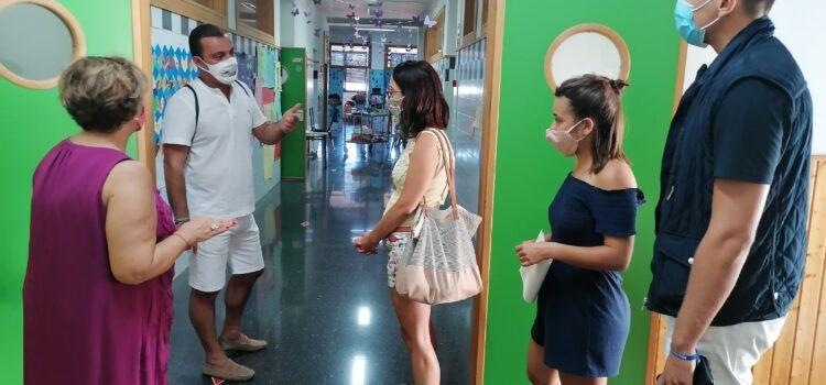 El Ayuntamiento de Peñíscola refuerza la limpieza y programa varias desinfecciones en el colegio