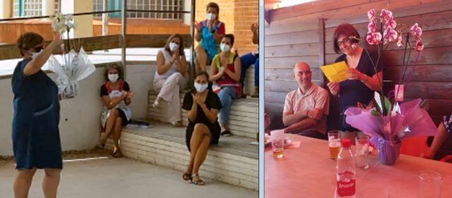 Doble jubilació al CEIP Sant Sebastià de Vinaròs