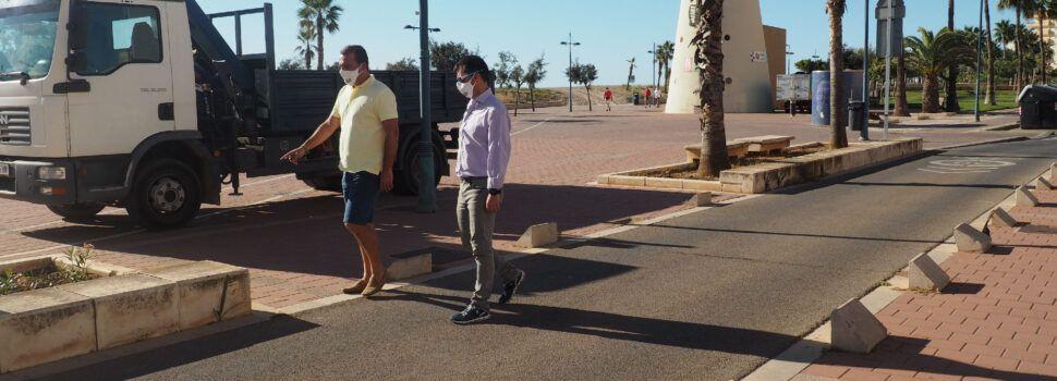 El Ayuntamiento de Peñíscola mejora la seguridad de la Avenida Papa Luna