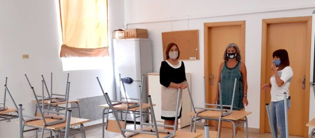 L'Ajuntament de Benicarló ha cedit un aula  a l'IES Joan Coromines