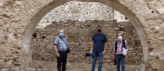 Avancen les obres arqueològiques del Parador de Morella