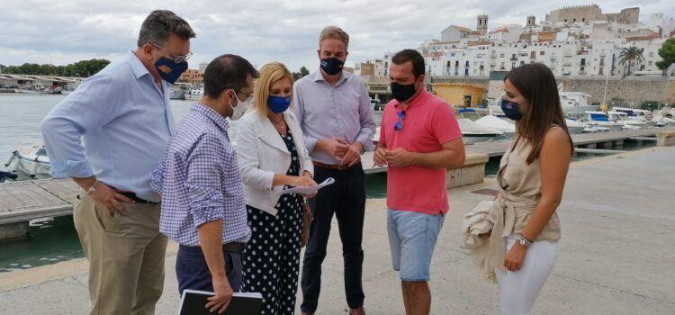 El PP reclamarà al Senat al Govern d'Espanya que actue davant els despreniments en el tómbol de Peníscola
