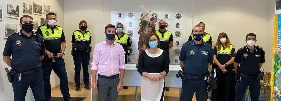 Suport a la Policia Local de Benicarló en el dia del patró, Sant Miquel