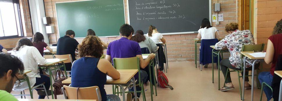 Vinaròs i 14 seus més acullen dissabte, amb totes les mesures de seguretat, les proves de valencià del C1