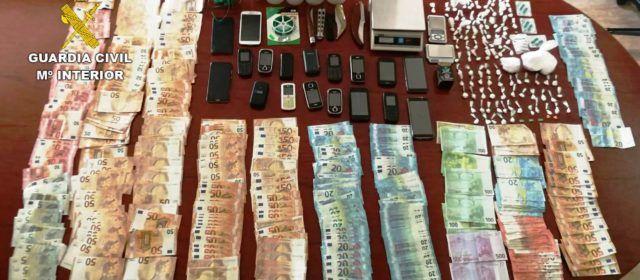 Desmantelada en Vinaròs una organización criminal dedicada al tráfico de estupefacientes
