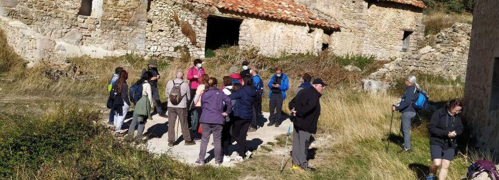 Els itineraris per les Terres de Cruïlla van recórrer Coratxà