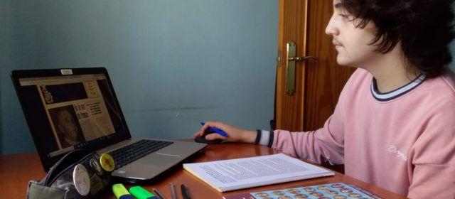 Adrià Polo, de l'IES Leopoldo Querol de Vinaròs, primer premi del concurs internacional Eustory