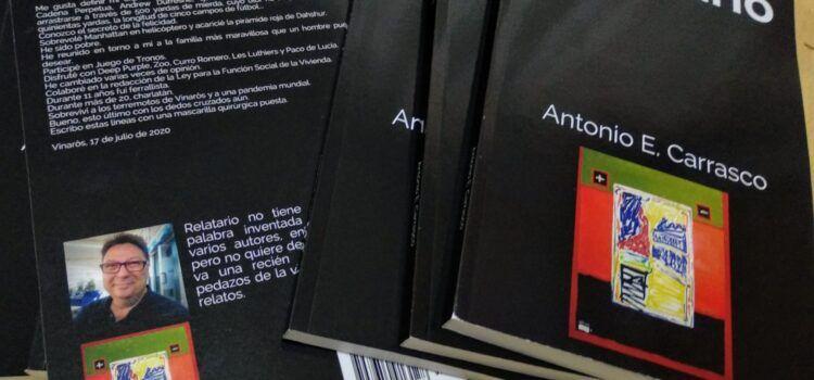El vinarocense Antonio Carrasco publica un libro de relatos breves