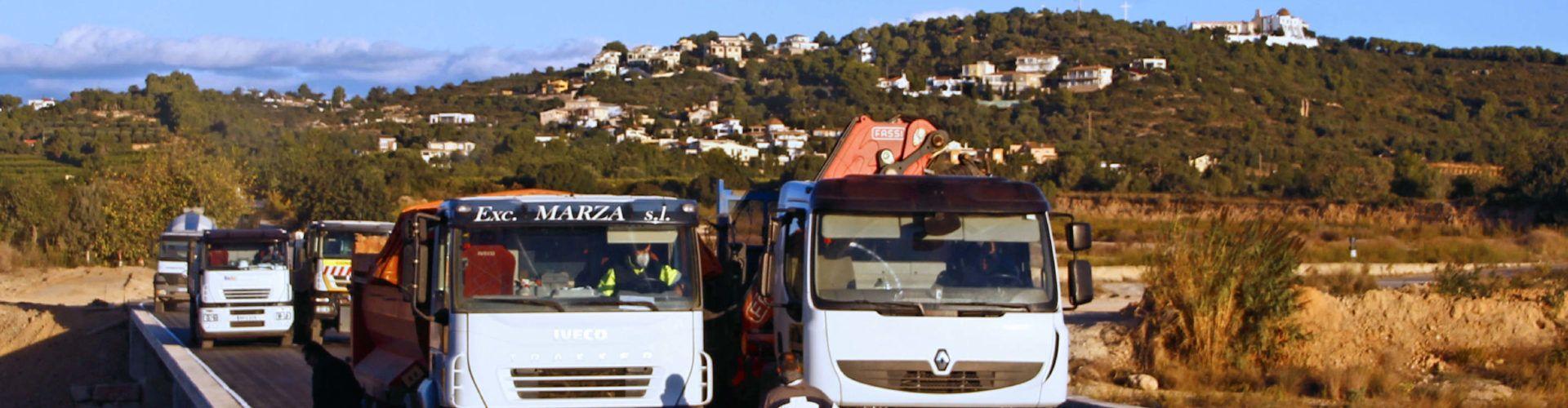 Fotos: prova de càrrega del pont de l'ermita a Vinaròs