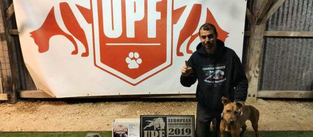 Un perro de Vinaròs, campeón de UPF Europa por segundo año consecutivo