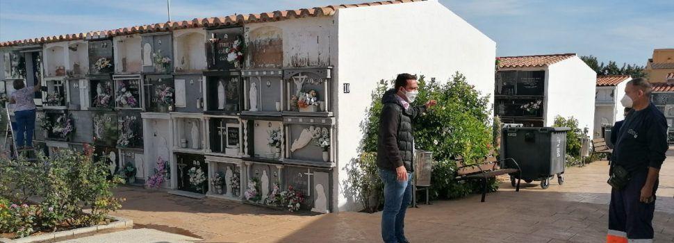 Peníscola posa en marxa un dispositiu especial de seguretat en el cementeri per a Tots Sants
