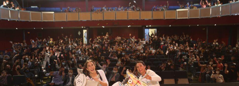Gran èxit de la primera funció post-confinament al Teatre Orfeó Montsià d´Ulldecona