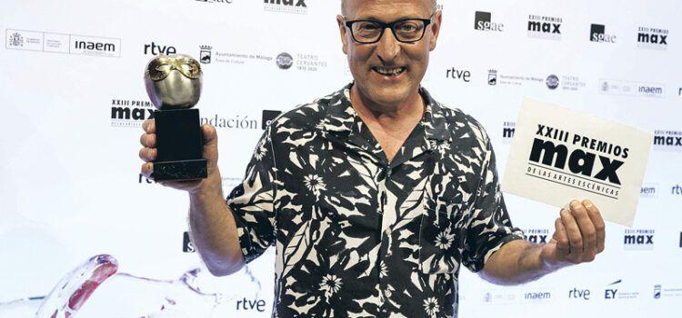 El actor de Vinaròs Tian Gombau, entrevistado en la revista Magisterio, tras ganar el Max