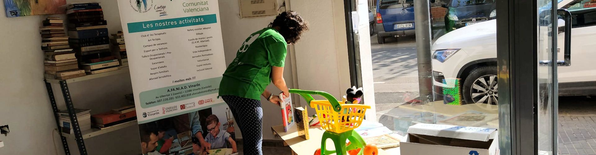 Afaniad Vinaròs pasa balance del primer mes del Centro Ocupacional, Cultural y Social