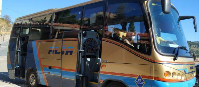 La Conselleria amplía el servicio de bus en els Ports para unir Herbers y Vallibona con Morella