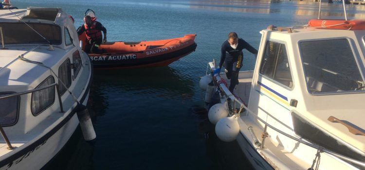 Rescatan el cuerpo sin vida de un vecino de Benicarló en aguas del puerto