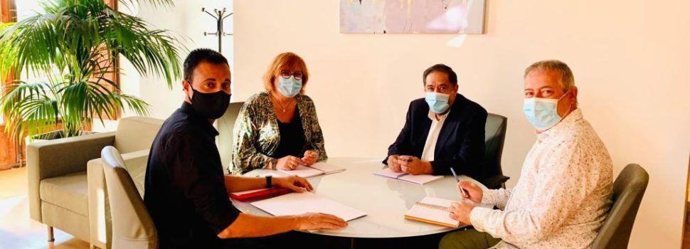 L'alcalde de Vinaròs participa a la cimera d'alcaldes de la Diputació