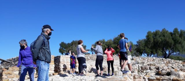 Vídeos i fotos: Alcanar, portes obertes a la Moleta del Remei, oliveres mil·lenàries, forns de cal i casa ibera